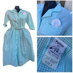 Vintage Wili of California Button Down Dress